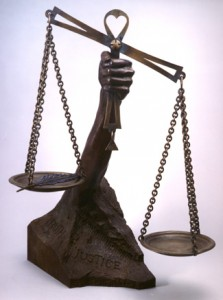 In today's America, increasingly the scales of truth and justice are more often driven by money than principle.
